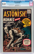 Silver Age (1956-1969):Mystery, Tales to Astonish #8 (Marvel, 1960) CGC VF 8.0 Off-white to whitepages....
