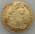 Colombia, Colombia: Charles IV gold 8 Escudos 1801-NR JJ,...