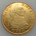 Colombia, Colombia: Charles III gold 8 Escudos 1787-NR JJ,...