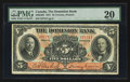 Canadian Currency: , Toronto, ON- The Dominion Bank $5 Feb. 1, 1931 Ch # 220-24-04. ...