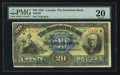 Canadian Currency: , Toronto, ON- The Dominion Bank $20 Jan. 2, 1925 Ch # 220-20-08. ...