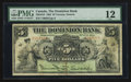 Canadian Currency: , Toronto, ON- The Dominion Bank $5 July 3, 1905 Ch # 220-16-10. ...