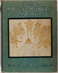 Books:Children's Books, L. Frank Baum. The Magical Monarch of Mo. Bobbs-Merrill,1903. Later impression. Rubbing and foxing to cloth with a ...