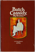 Books:Biography & Memoir, Lula Parker Betenson. SIGNED. Butch Cassidy, My Brother.Brigham Young, 1975. Third printing. Light rubbing to board...