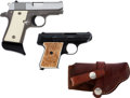 Handguns:Semiautomatic Pistol, Lot of Two Small Semi-Automatic Pistols.... (Total: 2 Items)