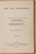 Books:Literature Pre-1900, Phiz [illustrator]. Nuts and Nutcrackers. Orr, 1845. Secondedition. Full leather with cracking front joint. Bookpla...