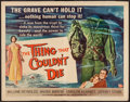 "Movie Posters:Horror, The Thing That Couldn't Die (Universal International, 1958). HalfSheet (22"" X 28""). Horror.. ..."