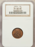 Proof Lincoln Cents: , 1916 1C PR66 Red and Brown NGC. NGC Census: (12/2). PCGS Population(12/1). Mintage: 1,150. Numismedia Wsl. Price for probl...
