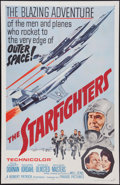 """Movie Posters:War, The Starfighters (Parade Releasing, 1964). One Sheet (27"""" X 41"""").War.. ..."""