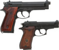 Handguns:Semiautomatic Pistol, Lot of Two Beretta Semi-Automatic Pistols.... (Total: 2 Items)