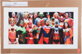 "Memorabilia:Comic-Related, Alex Ross Justice Volume 1 ""Infinitely Heroic"" LimitedEdition Giclee Print #222/250 (Clampett, 2008)...."