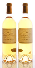 White Bordeaux, Chateau d'Yquem 2004 . Sauternes. Bottle (2). ... (Total: 2Btls. )