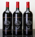 Domestic Merlot/Cabernet Franc, Beringer Merlot 1993 . Bancroft Ranch, Howell Mountain. 1lcrc, 3-1995 Napa Valley Auction. Double-Magnum (3). ... (Total: 3 D-Mags. )
