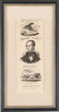 Political:Ribbons & Badges, Henry Clay: Whig Convention Ribbon....