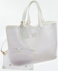 Luxury Accessories:Bags, Louis Vuitton Epi Plage White Lagoon Bay GM Large Tote Bag. ...(Total: 2 Items)