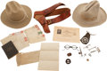 Western Expansion:Cowboy, Large Lot of Material With Texas Ranger Association.... (Total: 5Items)