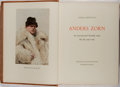 Books:Biography & Memoir, Anders Zorn [subject]. Gerda Boethius. Anders Zorn. Nordisk Rotogravyr, 1954. Limited to 1200 numbered copies. F...