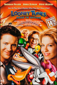"""Looney Tunes: Back in Action (Warner Brothers, 2003). One Sheet (27"""" X 40"""") DS. Comedy and Animation"""