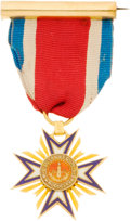 Military & Patriotic:Civil War, Gold Loyal Legion Medal ...