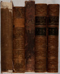 Books:Literature Pre-1900, [Literature]. Tennyson, Longfellow, and others. Group of FourNineteenth-Century Works in Five Volumes. Fair or better condi...(Total: 5 Items)