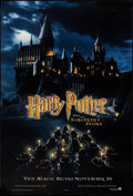 """Movie Posters:Fantasy, Harry Potter and the Sorcerer's Stone (Warner Brothers, 2001). One Sheet (27"""" X 41"""") DS Advance. Fantasy.. ..."""