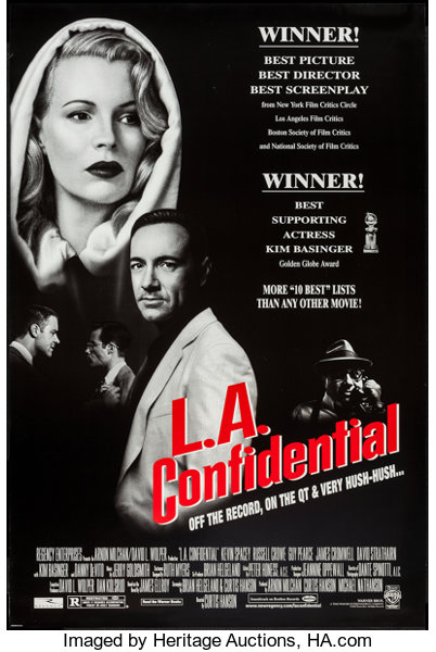L A  Confidential (Warner Brothers, 1997)  One Sheets (2