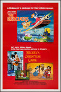 """Movie Posters:Animation, The Rescuers/Mickey's Christmas Carol Combo (Buena Vista, R-1983).One Sheet (27"""" X 41""""). Animation.. ..."""