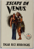 Books:Science Fiction & Fantasy, Edgar Rice Burroughs. Escape On Venus. Burroughs, 1946. First edition, first printing. Light rubbing and wear to dj,...