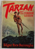 "Books:Science Fiction & Fantasy, Edgar Rice Burroughs. Tarzan and ""The Foreign Legion"". Burroughs, 1947. First edition, first printing. Mild rubb..."