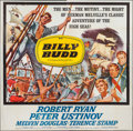 "Movie Posters:Adventure, Billy Budd (Allied Artists, 1962). Six Sheet (81"" X 81""). Adventure.. ..."
