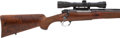 Long Guns:Bolt Action, .375 H&H Magnum Griffin & Howe Custom Winchester Model 70Bolt Action Rifle with Telescopic Sight....