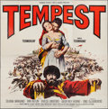 "Movie Posters:Adventure, Tempest (Paramount, 1959). International Six Sheet (81"" X 81"").Adventure.. ..."