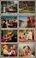 "Movie Posters:Adventure, Atlantis, the Lost Continent (MGM, 1961). Color Photo Set of 12 (8""X 10""). Adventure.. ... (Total: 12 Items)"
