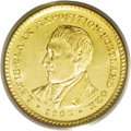 Commemorative Gold: , 1905 G$1 Lewis and Clark MS64 PCGS. In high grades the 1905 issueis considerably more elusive (and pricey) than the 1904 s...