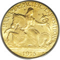 Commemorative Gold: , 1915-S $2 1/2 Panama-Pacific Quarter Eagle MS64 PCGS. This issuehas always been one of the most avidly sought of all gold ...