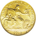 Commemorative Gold: , 1915-S $2 1/2 Panama-Pacific Quarter Eagle MS65 NGC. A remarkablyclean and attractive Gem example of this commemorative go...
