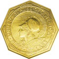 Commemorative Gold: , 1915-S $50 Panama-Pacific 50 Dollar Octagonal AU58 NGC. Seldom arewe privileged to offer a circulated example of this ...