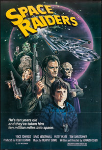 """Space Raiders (New World, 1983). One Sheet (27"""" X 40""""). Science Fiction"""