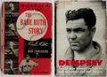Books:Biography & Memoir, [Sports Biographies]. Babe Ruth and Jack Dempsey [subjects]. Groupof Two First Edition, First Printing Books, One Signed. V...