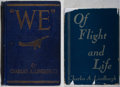 Books:Biography & Memoir, Charles A. Lindbergh. Group of Two First Edition Books. Various,1927-1948. We is lacking dj. Good or better condition....