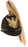 Military & Patriotic:Indian Wars, Model 1881 New York Spike Helmet With US Indian Scout Insignia...
