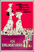 "Movie Posters:Animation, 101 Dalmatians (Buena Vista, R-1972). One Sheet (27"" X 41""). Animation.. ..."