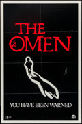 """Movie Posters:Horror, The Omen (20th Century Fox, 1976). One Sheet (27"""" X 41"""") Advance, """"You Have Been Warned"""" Style. Horror.. ..."""