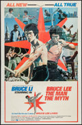 "Movie Posters:Action, Bruce Lee: The Man, The Myth (Cinema Shares International, 1977).One Sheet (27"" X 41""). Action.. ..."