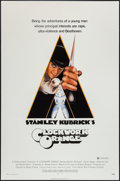 "Movie Posters:Science Fiction, A Clockwork Orange (Warner Brothers, 1971). One Sheet (27"" X 41"") XRated Style. Science Fiction.. ..."