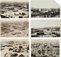 Western Expansion:Goldrush, Real Photo Postcards: Four Town Scenes of Searchlight, Nevada,...(Total: 5 Items)