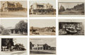 Transportation:Railroad, Real Photo Postcards: Eight California Train Depots &Scenes,... (Total: 8 Items)