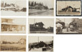 Transportation:Railroad, Real Photo Postcards: Eight California Train Depot Scenes, ...(Total: 8 Items)