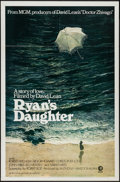 "Movie Posters:Drama, Ryan's Daughter (MGM, 1970). One Sheet (27"" X 41"") Style B. Drama....."