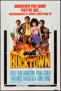 "Movie Posters:Blaxploitation, Bucktown (American International, 1975). One Sheet (27"" X 41""). Blaxploitation.. ..."